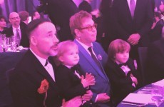 """Elton John has started a war with Dolce & Gabbana after """"synthetic"""" kids comment"""