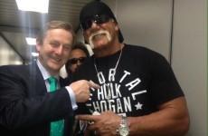 So Enda Kenny met Hulk Hogan yesterday...