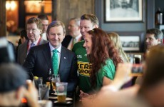 Enda Kenny wants everyone home and in a job by 2018