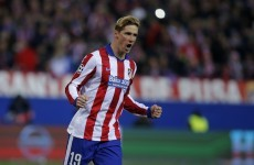 Fernando Torres penalty seals Atletico's place in Champions League quarter-finals