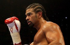 Haye to defend WBA title against Harrison