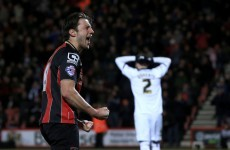 Harry Arter celebrated his first Ireland call-up with a stunning goal last night