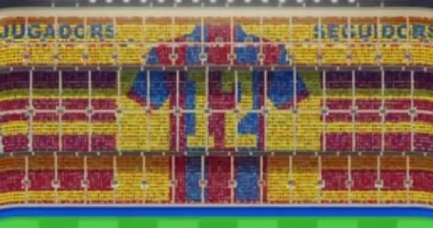 Barcelona's mosaic for this weekend's El Clasico will be something special