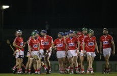 Four changes to Cork hurling team to face Tipperary next Sunday