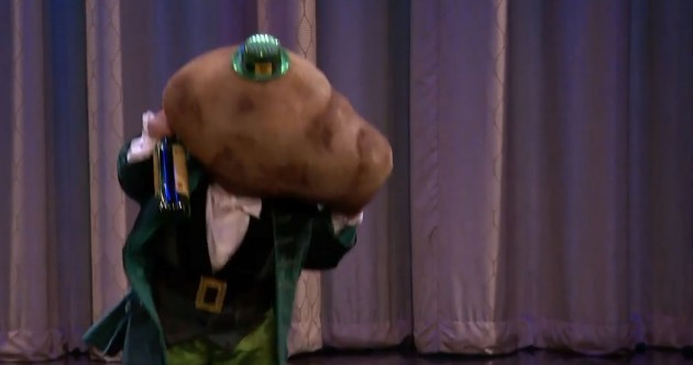 Is Conan O'Brien's angry drunken leprechaun potato the most offensive Irish stereotype ever?