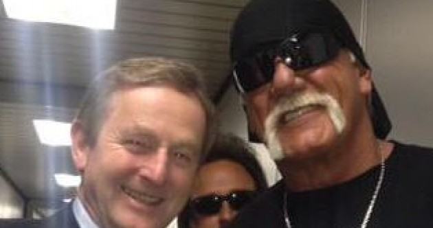 QUIZ: What was Hulk Hogan wearing when he met Enda? Test your knowledge of the week...