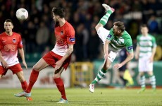 Shamrock Rovers and Cork City couldn't be separated tonight in Tallaght