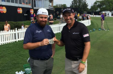 Shane Lowry hustled by Pádraig Harrington - It's the sporting tweets of the week