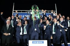 Magic scenes in Murrayfield as Ireland lift the Six Nations trophy again