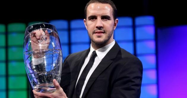 John O'Shea named Republic of Ireland's Senior Player of the Year