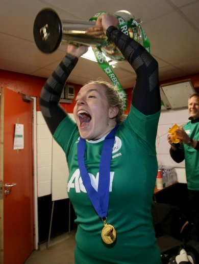 'We wanted that ruthless streak': Niamh Briggs keeping firm grip on 6 Nations crown