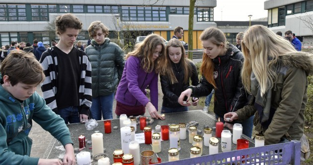 16 German schoolchildren on board crashed plane