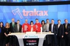 Three Irish siblings rang the Nasdaq bell this morning