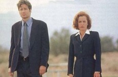 David Duchovny and Gillian Anderson tweeted about The X Files return and Twitter swooned