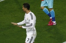 Ronaldo could face suspension over Clasico celebration