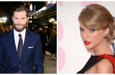 Jamie Dornan's going to be on telly with Taylor Swift today.... It's The Dredge