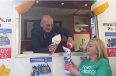 Roddy Doyle's latest project was launched in the most fitting way