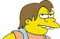 They were talking about Nelson from The Simpsons in the Dáil today