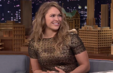 'That was scary!' - Jimmy Fallon got caught in a Ronda Rousey armbar