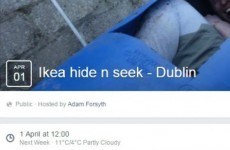 IKEA said it's 'not facilitating' a massive game of Hide n Seek in Dublin