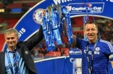 Mourinho throws water bottles when we're winning - Terry lifts lid on Chelsea dressing room