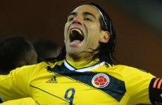 Are you watching LvG? Out-of-sorts Falcao scores twice on international duty with Colombia