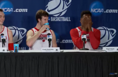 This basketball player forgot his mic was on and completely mortified himself
