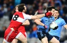 Dublin late show relegates Derry in dour affair