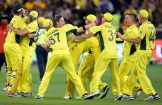 Australia made winning the Cricket World Cup look very, very easy this morning