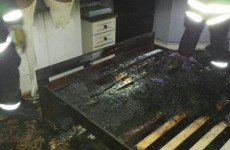 Tea light candles set bed on fire in Dublin house