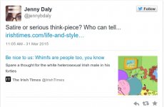 Here is why people are talking about this Irish Times 'whimfs' article