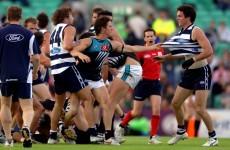 AFL player banned for slagging opponent's mother