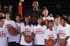 WATCH: LeBron gets schooled during an exhibition game in Asia