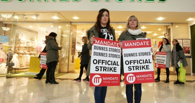 'Everyone needs to get behind Dunnes workers, in the name of common decency'