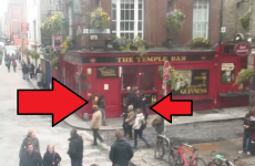Tragic scenes in Temple Bar as tourists realise the pubs are closed