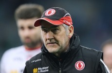 Tyrone will be without their legendary manager for tomorrow's relegation battle with Kerry