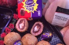 A butcher in Fermanagh has wrapped Creme Eggs in sausage meat and deep fried them