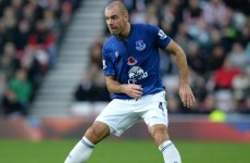 A difficult season just got worse for Ireland's Darron Gibson