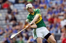 Kerry hit five first-half goals to claim Hurling League title