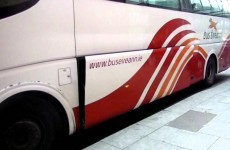 We have tracked down the new Bus Éireann 'luggage doors operating' announcement