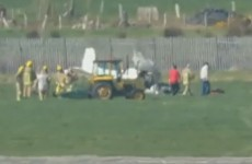 Man killed after plane crashes at Co Down airfield