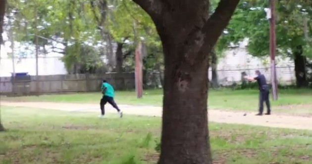 US police officer charged with murdering black man after video of shooting emerges