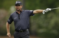 G-Mac had a Masters practice round interrupted by a venomous snake