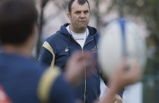 Michael Cheika is in trouble after 'approaching' a referee during a Waratahs game
