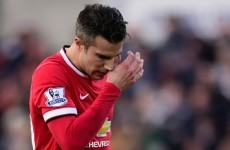 Reinvention or departure? What now for Van Persie at Manchester United?