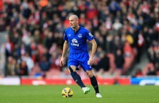 Darron Gibson's injury nightmare costs him another season with Everton
