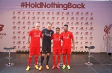 Liverpool have launched their shiny new home strip for next season