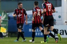 Bohs look comfortable in routine win over Longford