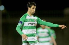 Fahey sees red for diving as Hoops unable to make it 3 away wins on the bounce