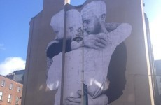 While you were sleeping, this massive marriage equality mural went up on George's Street